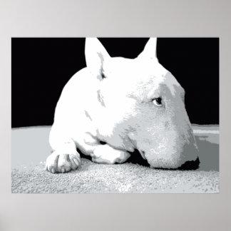 Bull Terrier Pop Art Print