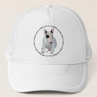 Bull Terrier Puppy Ditties Trucker Hat