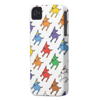 BULL TERRIER Rainbow phone case iPhone 4 Case