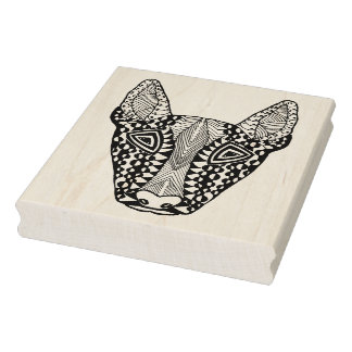 Bull Terrier Sketch Rubber Stamp