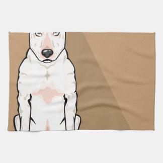 Bull Terrier vector Towels