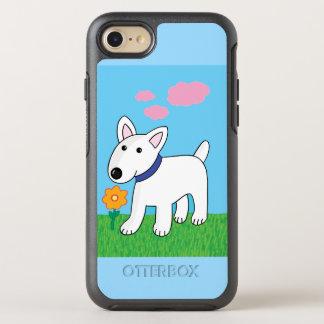 Bull Terrier w. Flower OtterBox iPhone 7 Case