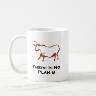 Bull There Is No Plan B Brown Coffee Mug