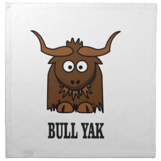 bull yak cloth napkin