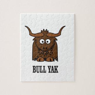 bull yak jigsaw puzzle