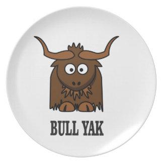 bull yak plate