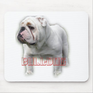 Bulldog ブルドッグ mouse pad