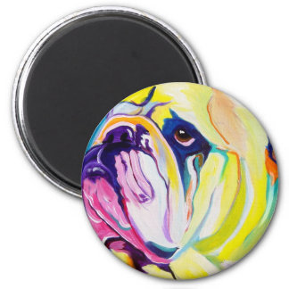 Bulldog #1 magnet
