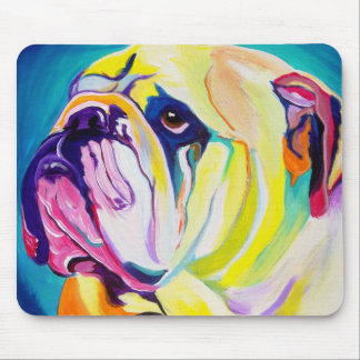 Bulldog #1 mouse pad