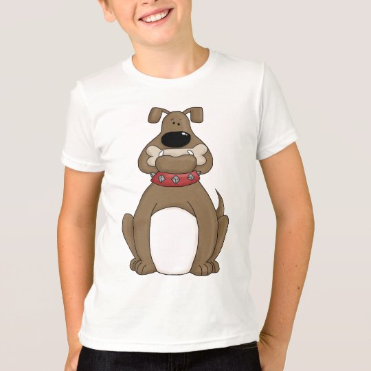 Bulldog and Dog Bone T-Shirt