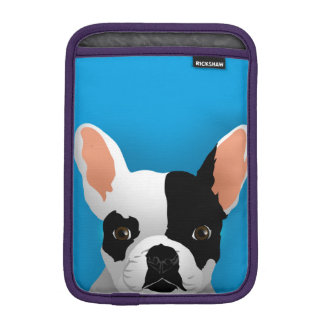 Bulldog art - french bulldog iPad mini sleeve