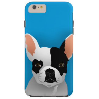 Bulldog art - french bulldog tough iPhone 6 plus case