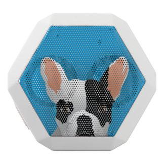 Bulldog art - french bulldog white bluetooth speaker