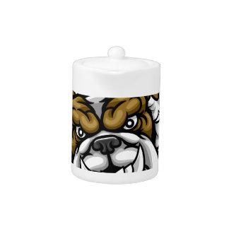 Bulldog Bowling Sports Mascot