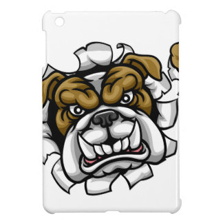 Bulldog Bowling Sports Mascot iPad Mini Case