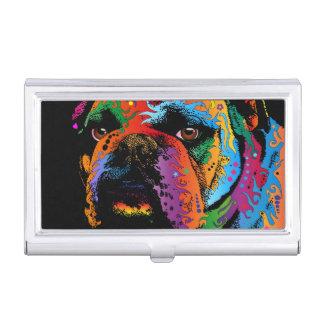 Bulldog Business Card Holder