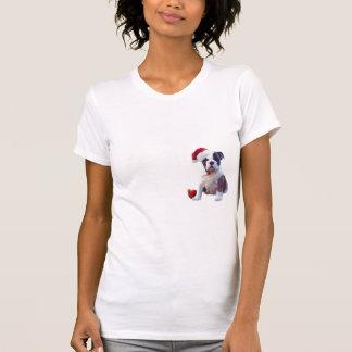 Bulldog Christmas Nightshirt Tshirt