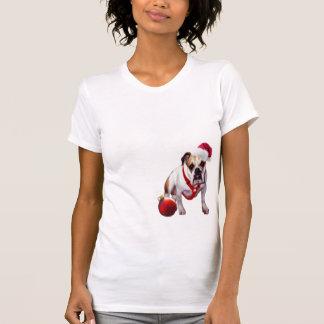 Bulldog Christmas Nightshirt T Shirts