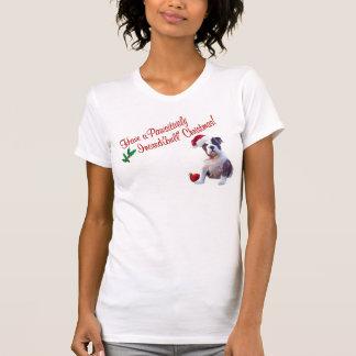 Bulldog Christmas Nightshirt #2 Tshirts