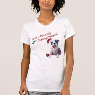 Bulldog Christmas Nightshirt #2 - New Design T Shirt