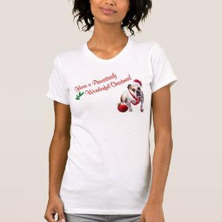 Bulldog Christmas Nightshirt #3 - New Design T-shirt