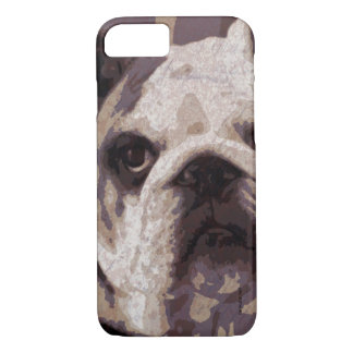 Bulldog Close iPhone 8/7 Case