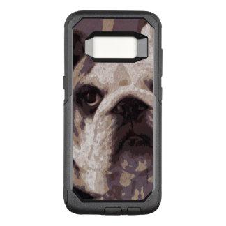 Bulldog Close OtterBox Commuter Samsung Galaxy S8 Case