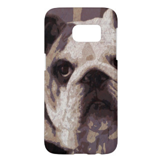 Bulldog Close Samsung Galaxy S7 Case