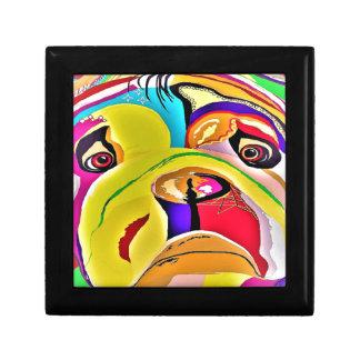 Bulldog Close-up Gift Box