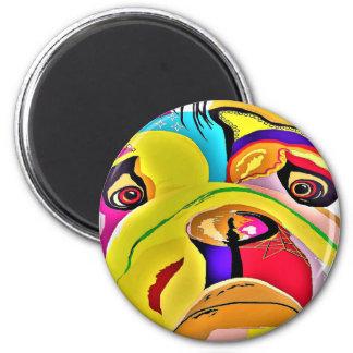 Bulldog Close-up Magnet