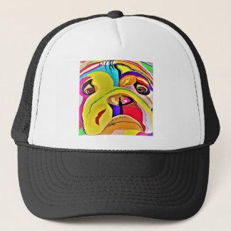 Bulldog Close-up Trucker Hat