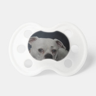 Bulldog Couch Baby Pacifiers