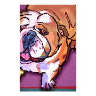 Bulldog Custom Stationery
