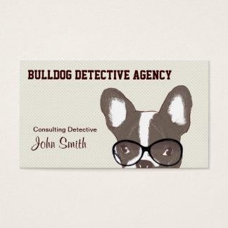 Bulldog Detective Agency Business Card