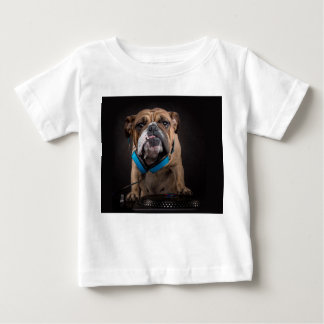 bulldog dj - dj dog baby T-Shirt