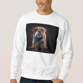 bulldog dj - dj dog sweatshirt