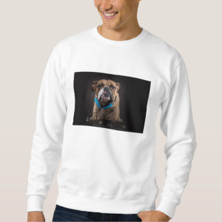 bulldog dj - dj dog sweatshirt