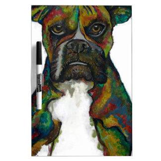 bulldog dry erase board