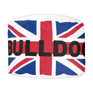 bulldog england United_Kingdom name flag Pouf