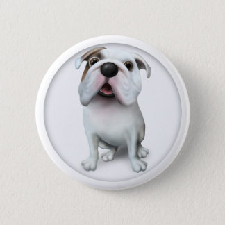 Bulldog (English) Button BULLD1
