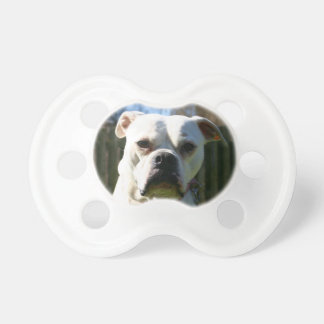 Bulldog Face Baby Pacifiers
