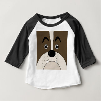 Bulldog face baby T-Shirt