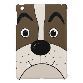 Bulldog face cover for the iPad mini