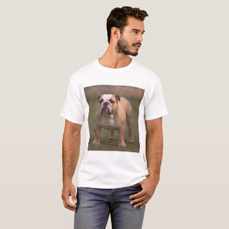 bulldog fawn and white full T-Shirt