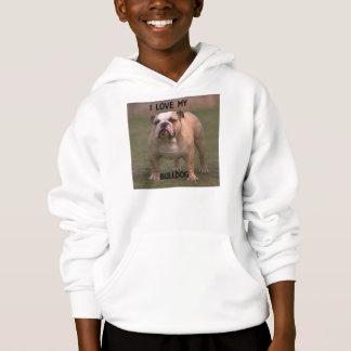 bulldog fawn and white love w pic