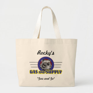 Bulldog Gas and Supply Jumbo Tote Bag