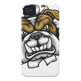 Bulldog Golf Sports Mascot iPhone 4 Covers
