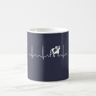 BULLDOG HEARTBEAT COFFEE MUG