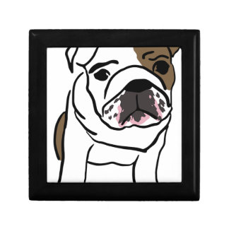 Bulldog Jewelry Box