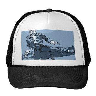 bulldog kick trucker hat